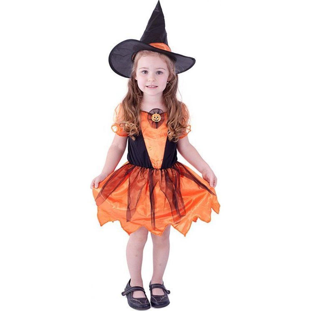 Kostým Čarodejnica s tekvicou veľ. M