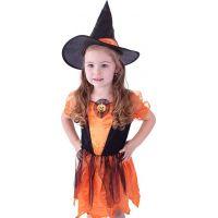 Kostým Čarodejnica s tekvicou veľ. M 2
