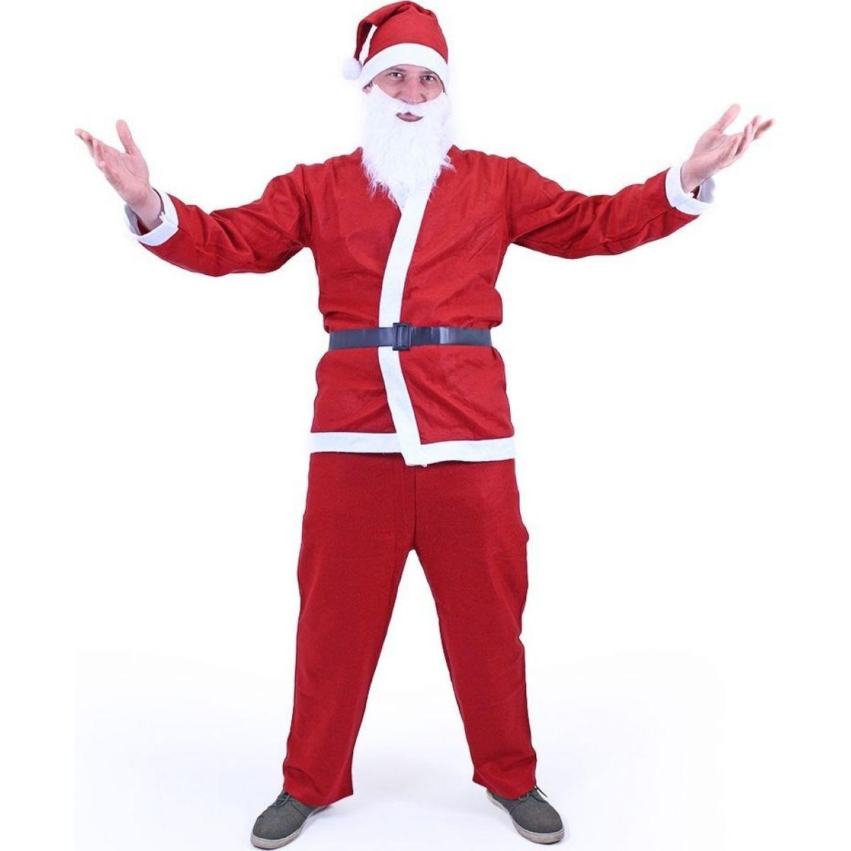 Rappa Kostým Santa Claus (bez fúzov) dospelý