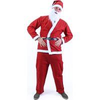 Rappa Kostým Santa Claus (bez fúzov) dospelý 2
