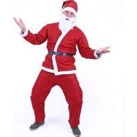 Rappa Kostým Santa Claus (bez fúzov) dospelý 4