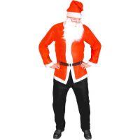 Rappa Kostým Santa Claus (bunda, čiapka, fúzy)