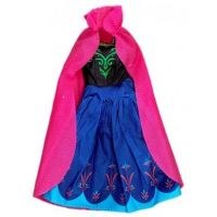 Rappa oblečenie pre bábiku zimné kráľovstvo ružový plášť