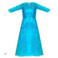 Rappa oblečení pro panenku zimní království světle modré