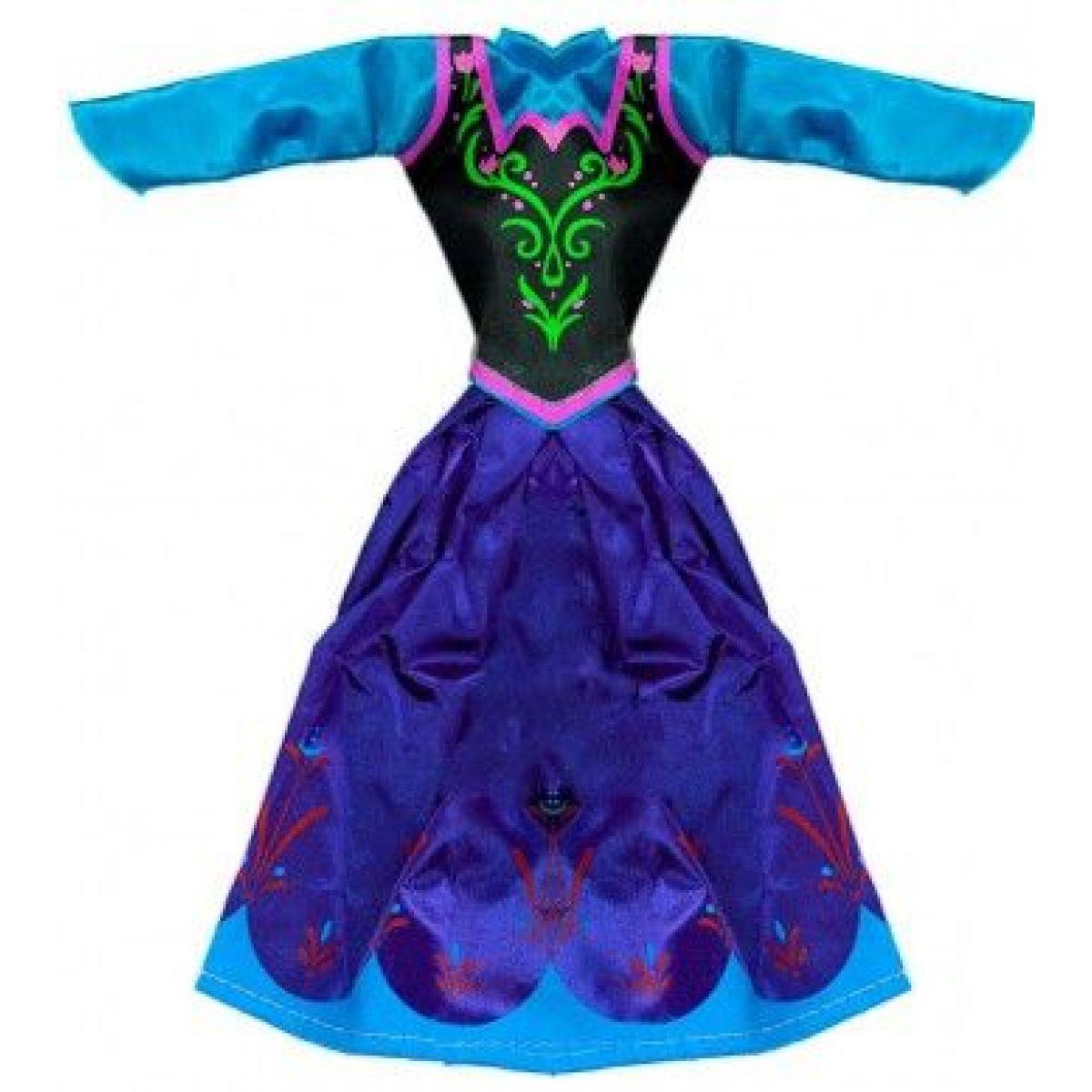 Rappa oblečenie pre bábiku zimné kráľovstvo tmavo modré
