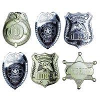Rappa Odznak policajný 6 ks v sáčku
