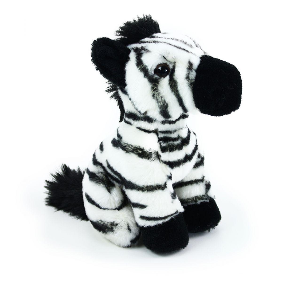 Rappa Plyšová zebra sediaci 18 cm