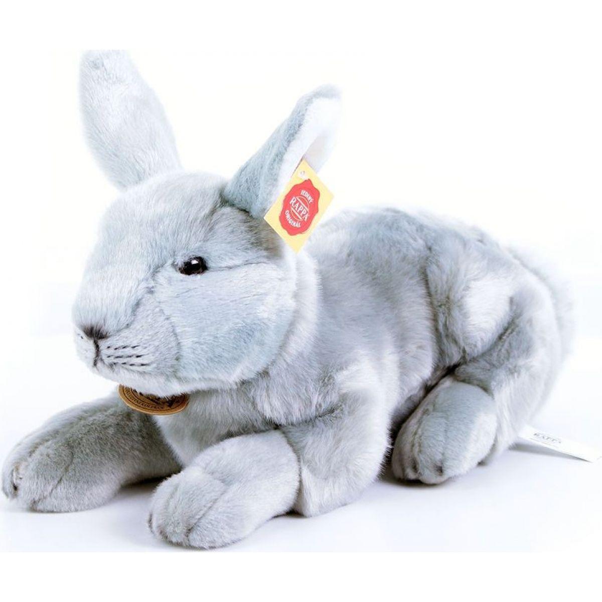 Rappa Plyšový králík ležící 33 cm