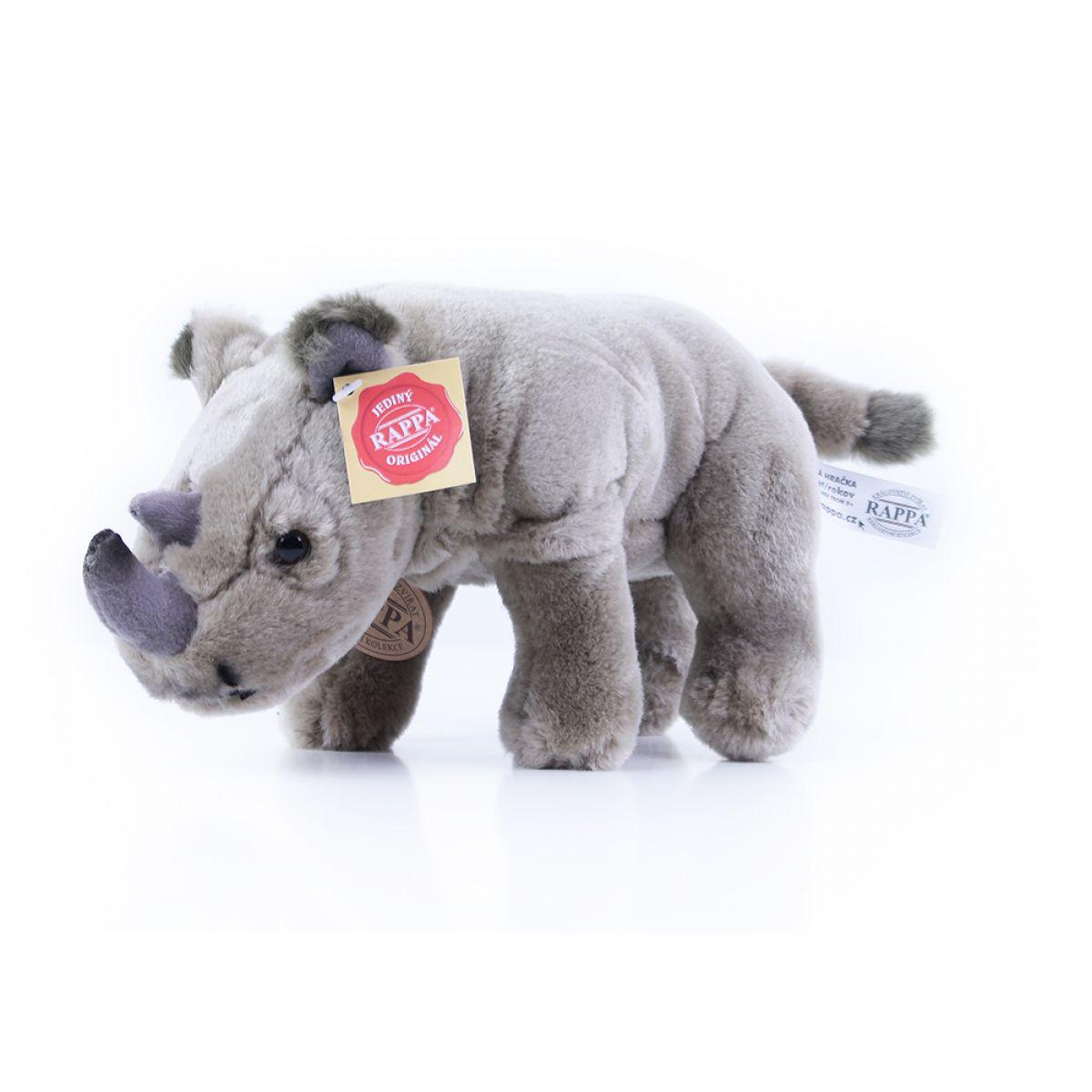 Rappa Plyšový nosorožec stojace 23 cm