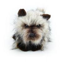 Rappa Plyšový pes kernteriér sediaci 28 cm 3