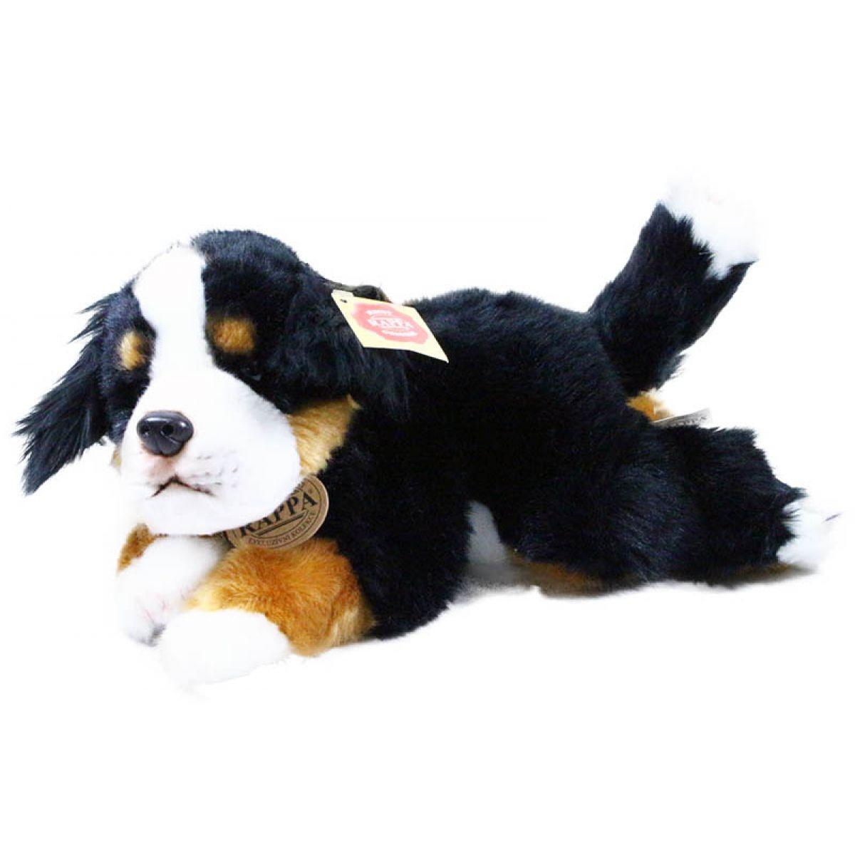 Rappa Plyšový pes ležiaci 30 cm Bernardýn