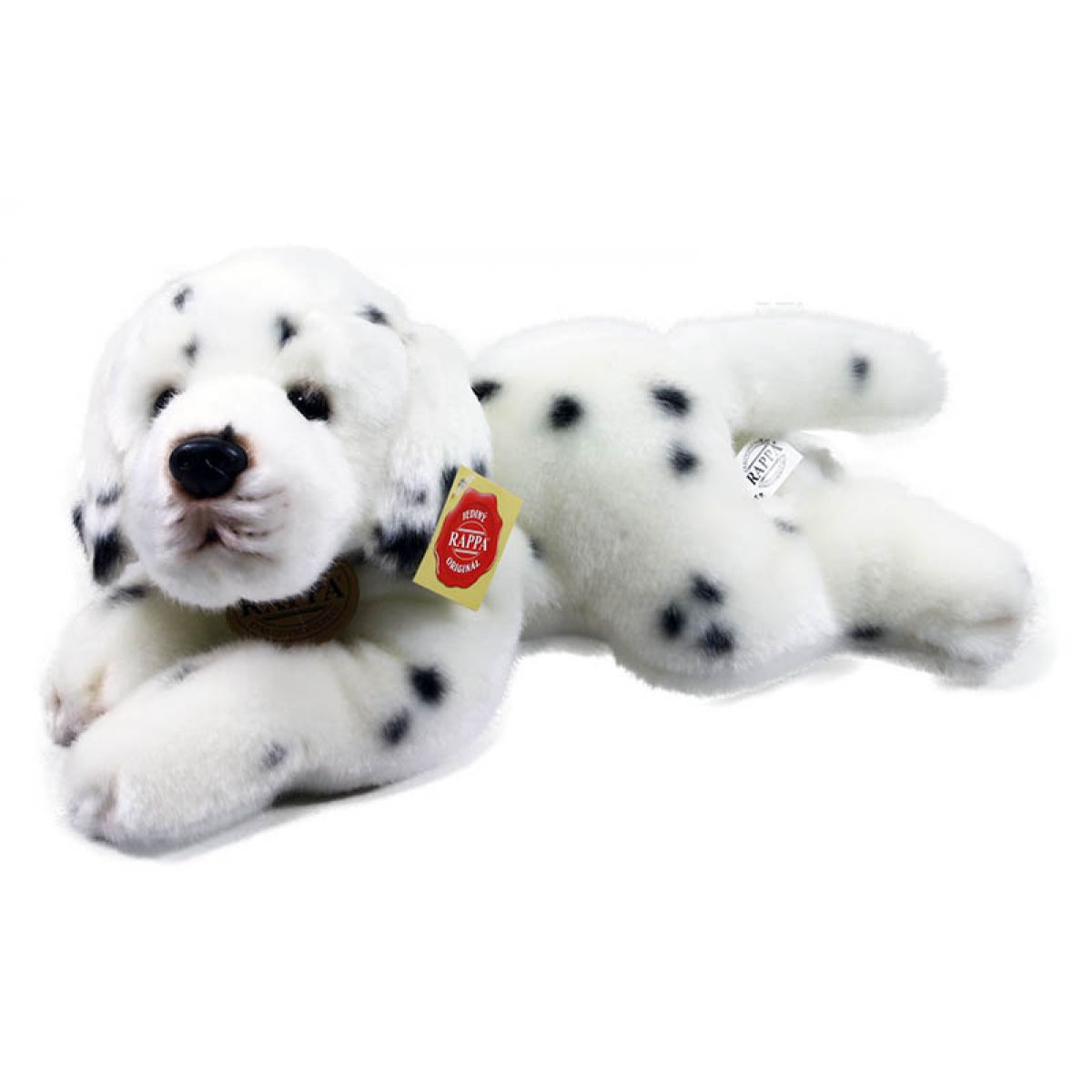 Rappa Plyšový pes ležiaci 30 cm Dalmatin