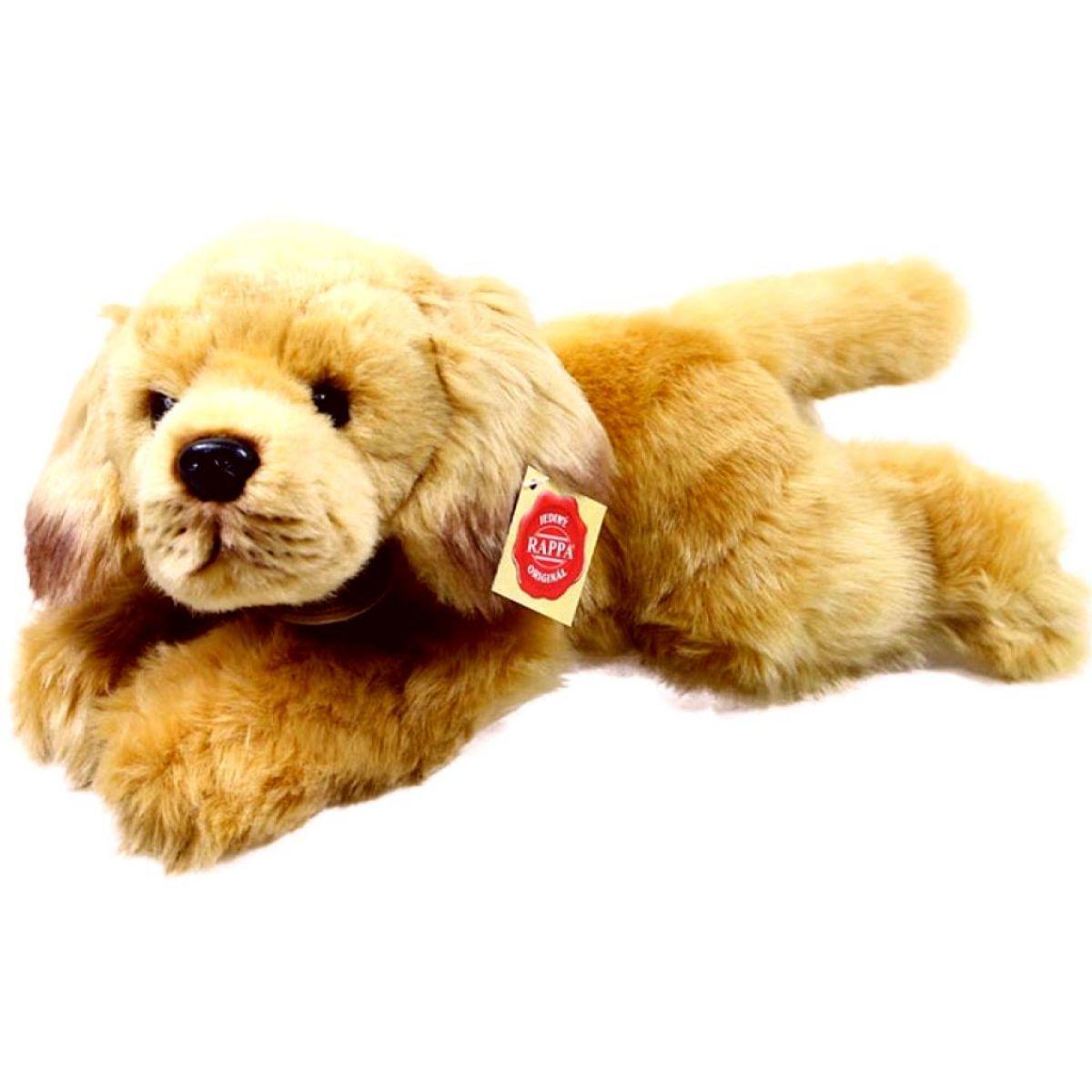 Rappa plyšový pes ležiaci 30 cm Retríver
