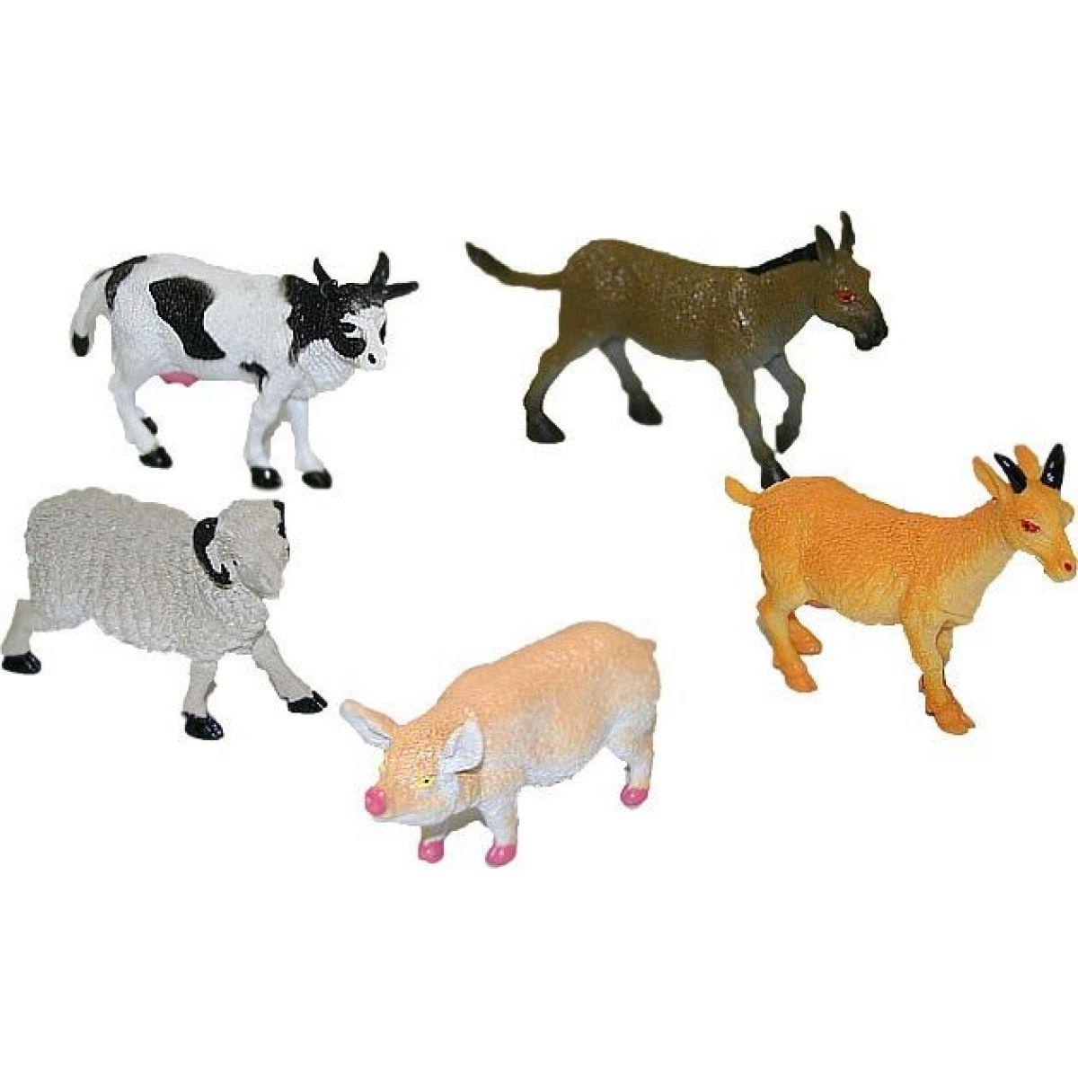 Rappa Zvieratá domáci II. 5 ks v sáčku