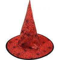 klobúk čarodejnícky červený