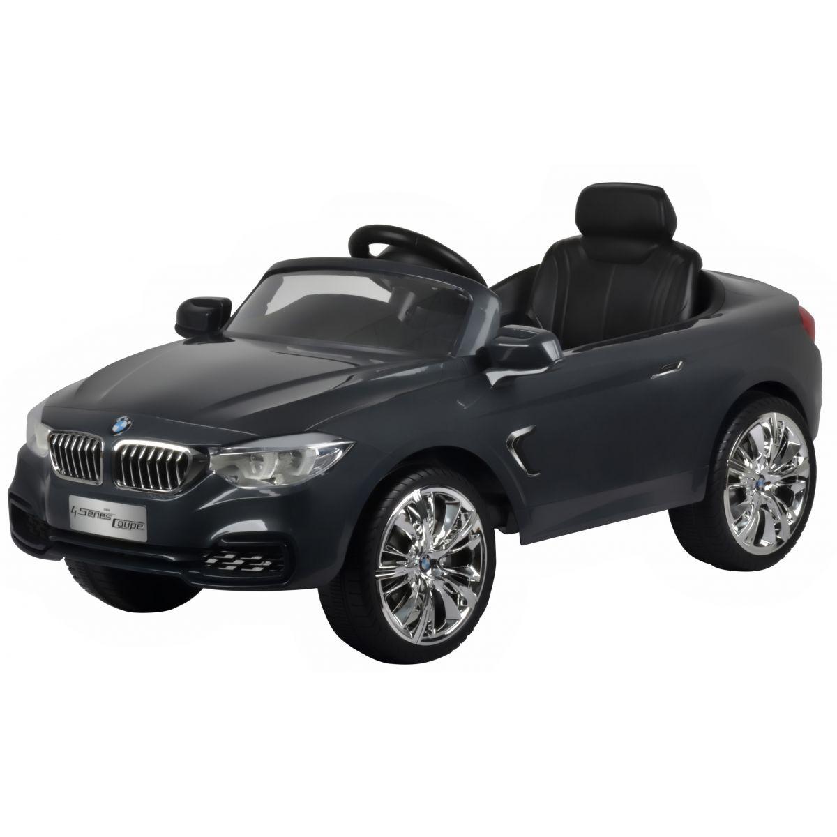 Rastar Elektrické auto BMW 4 Coupe Tmavo šedé