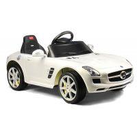 Rastar Elektrické auto Mercedes-Benz SLS AMG Bílá - Poškozený obal