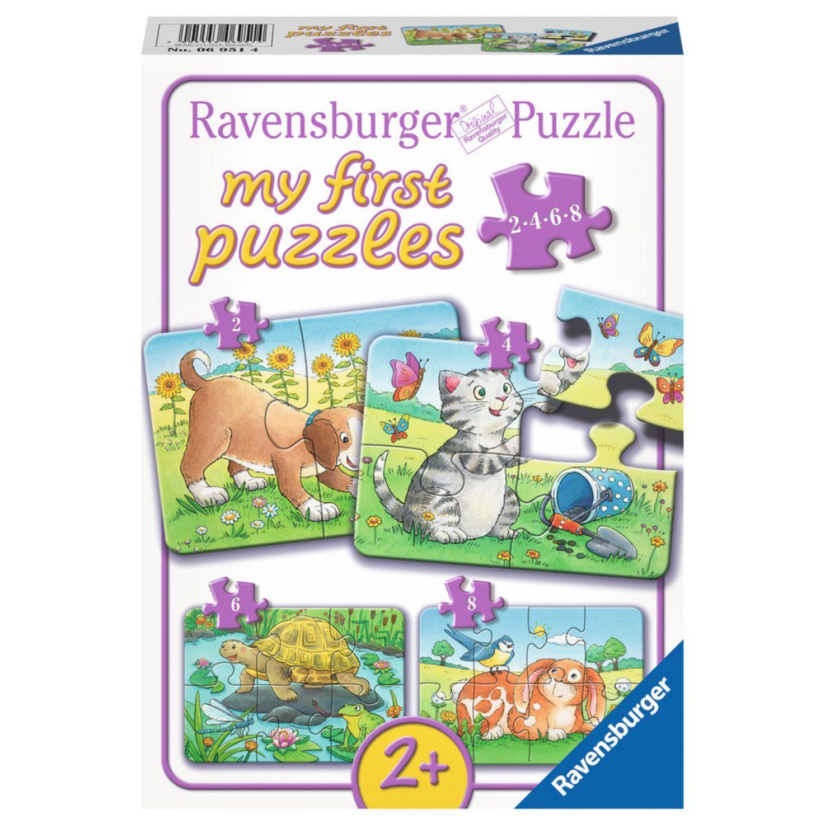 Ravensburger Moje První Puzzle Domácí zvířátka