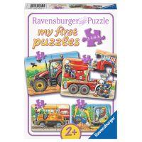 Ravensburger Moje Prvý Puzzle Stroje