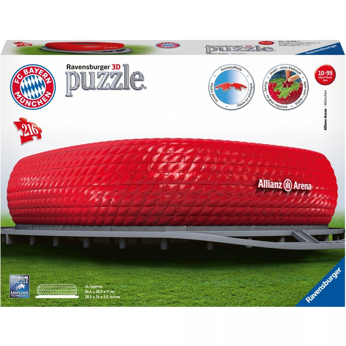 Ravensburger 125265 3D Puzzle Allianz Arena 216 dielikov