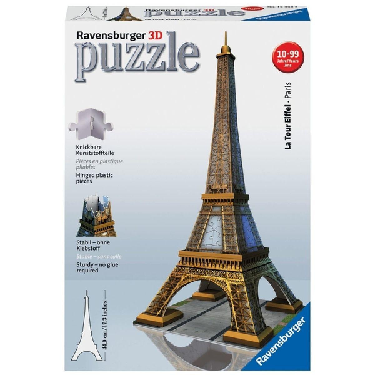 Ravensburger 3D puzzle Eiffelova veža 216 dielikov