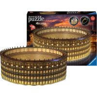 Ravensburger 3D puzzle 111480 Colosseum Nočná edícia 216 dielikov