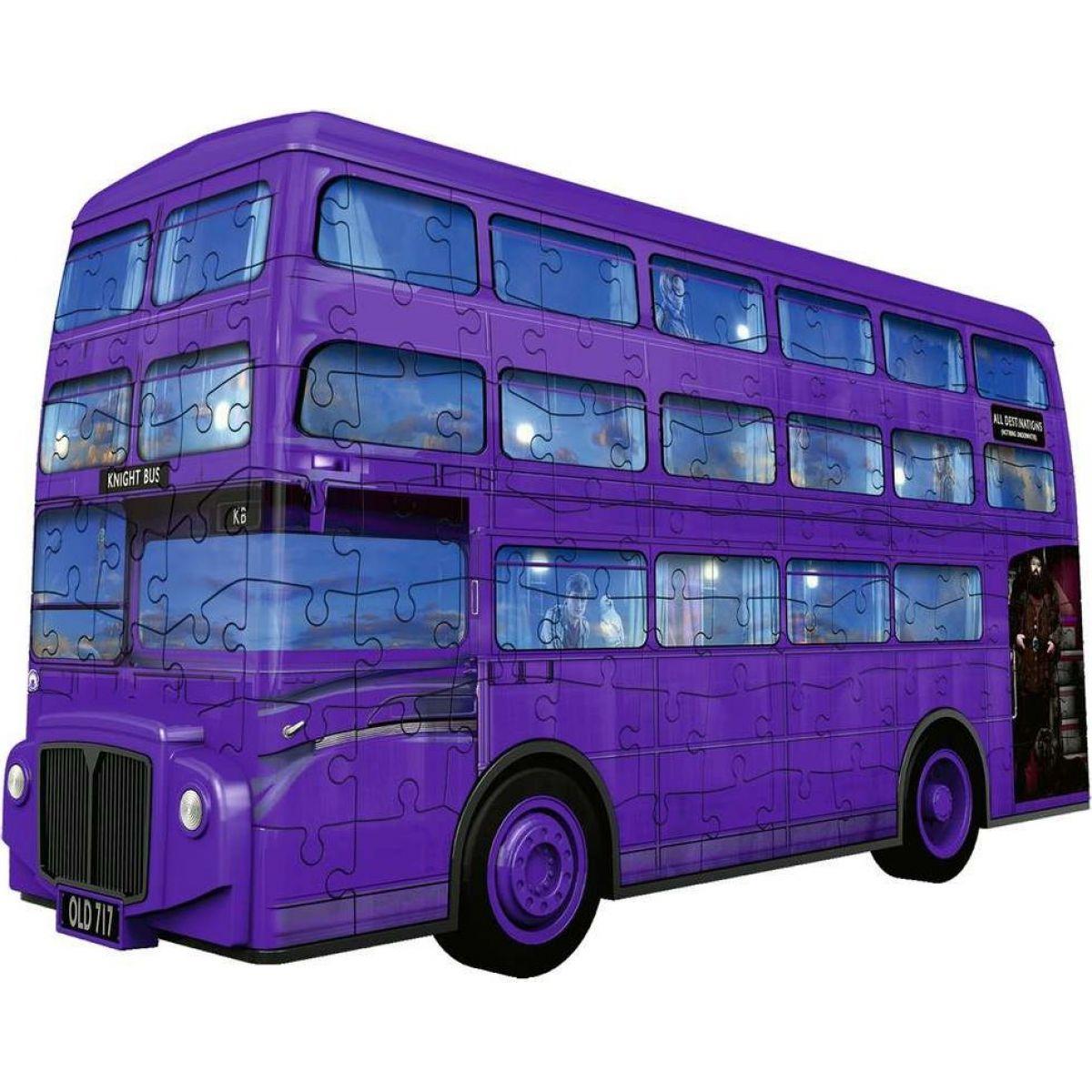 Ravensburger 3D puzzle 111589 Harry Potter Rytiersky autobus 216 dielikov