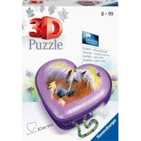 Ravensburger 3D puzzle 111718 Srdce kone 54 dielikov