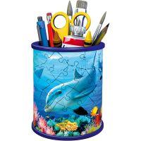Ravensburger 3D puzzle 111763 Stojan na ceruzky Podvodné svet 54 dielikov