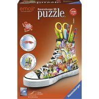 Ravensburger 3D Puzzle 112180 Kecka Emoji Sneaker 108 dílků
