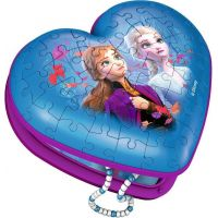 Ravensburger 3D puzzle 112364 Srdce Disney Ľadové kráľovstvo 2 54 dielikov