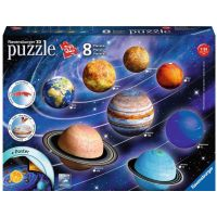 Ravensburger 3D Planetární soustava 522 dílků