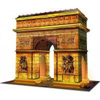 Ravensburger 3D Puzzle Víťazný oblúk Nočná edícia 216 dielikov