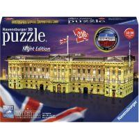 Ravensburger puzzle 125296 Buckinghamský palác (Noční edice) 216 dílků