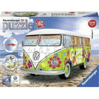 Ravensburger 3D puzzle 125326 VW Autobus T1 Hippie 162 dílků