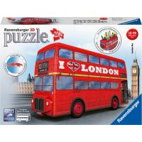 Ravensburger 3D puzzle 125340 Londýnský autobus 216 dílků