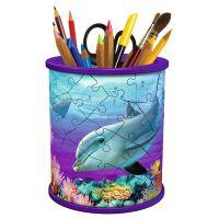 Ravensburger 3D Puzzle Stojan na ceruzky Podvodný svet 54 dielikov 2