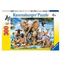 Ravensburger Africkí priatelia 300 dielikov