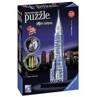 Ravensburger 3D puzzle svítící Chrysler building Noční edice 216 dielikov