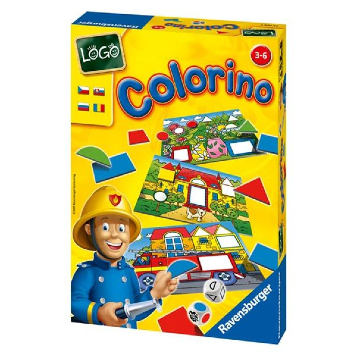 Ravensburger 24369 - LOGO Colorino
