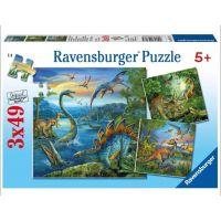 Ravensburger Dinosaury 3 x 49 dielikov