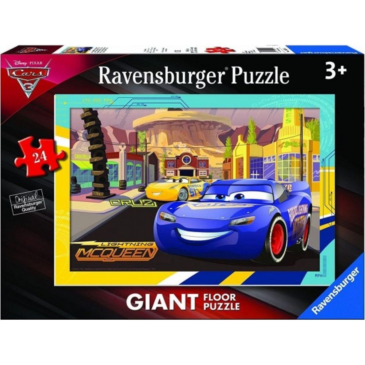 Ravensburger Disney Autá III. motív 3 24 dielikov