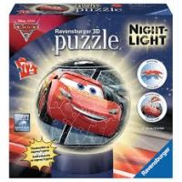 Ravensburger 3D puzzleball Cars 3 LED 72 ks