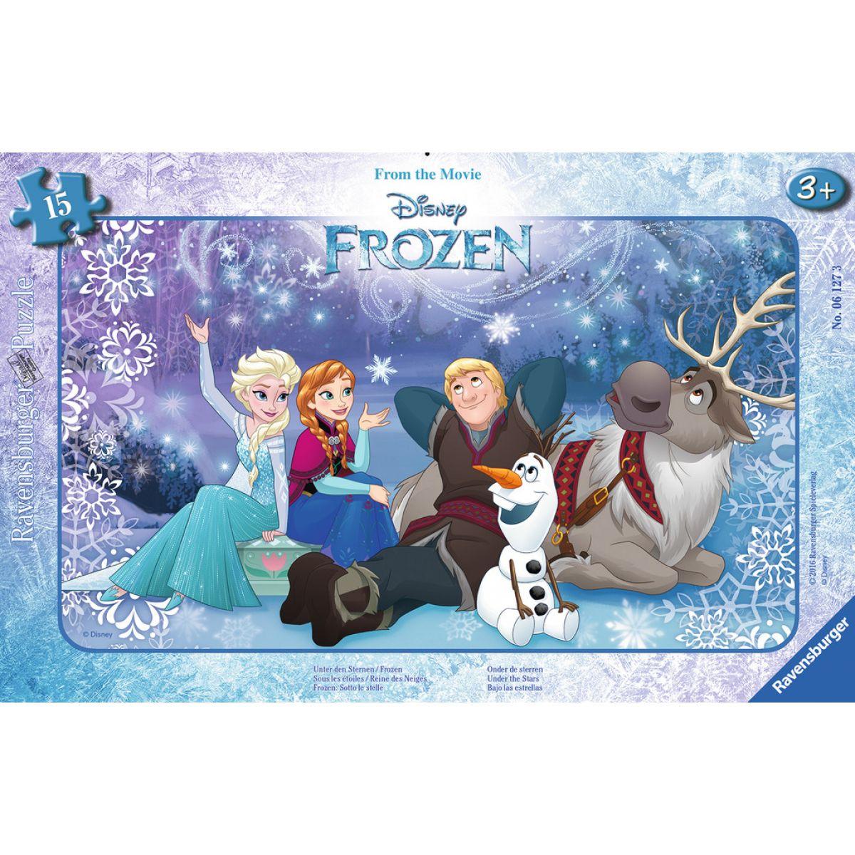 Ravensburger Disney Ľadové kráľovstvo puzzle 15 dielikov