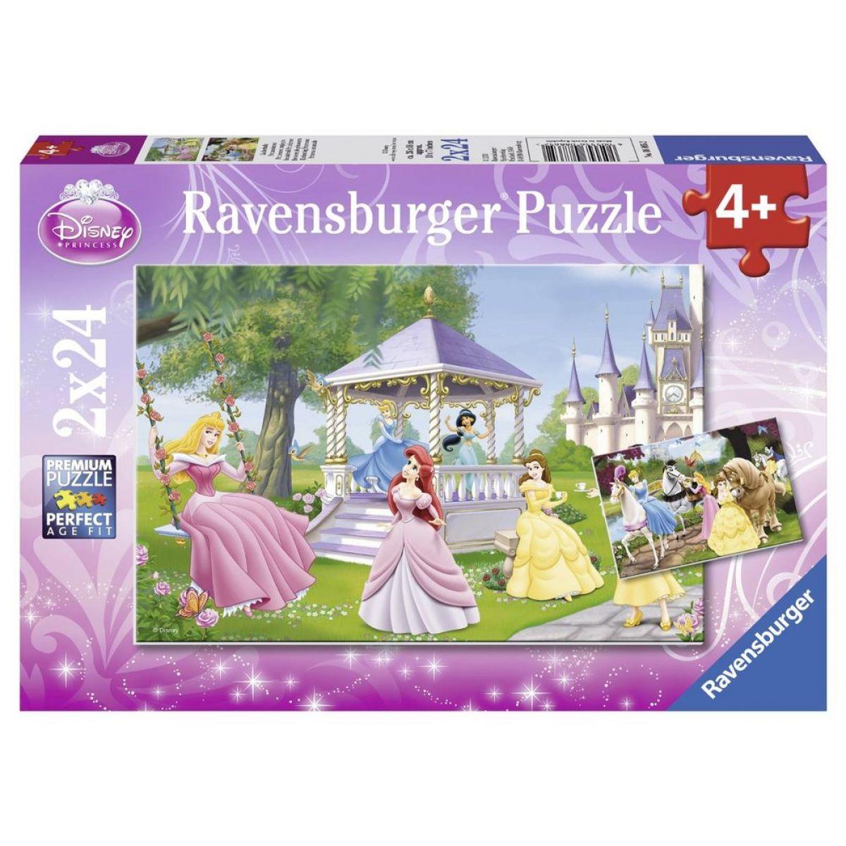 Ravensburger Princezny 2x24 dílků