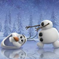 Ravensburger Disney Ľadové kráľovstvo dobrodružstvo na snehu  3 x 49 dielikov 2