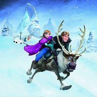Ravensburger Disney Ľadové kráľovstvo dobrodružstvo na snehu  3 x 49 dielikov 4