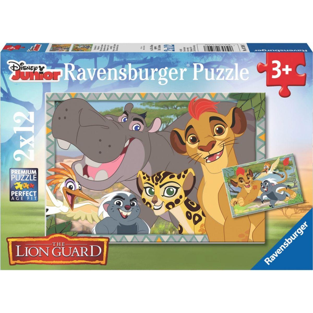 Ravensburger Disney Lion Guard 2 x 12 dílků