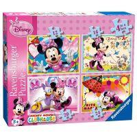 Ravensburger Disney Puzzle Mickey Mouse 4x puzzle v boxe
