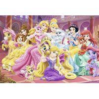 Ravensburger Disney Princess Nejlepší přátelé princezen 2 x 24 dílků 3